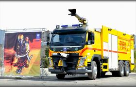آیین تحویل خودروهای آتش نشانی فرودگاه های کل کشور