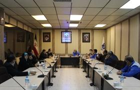 بازدید شهردار محترم ساوه و اعضای شورای شهر از شرکت گواه